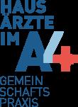 Hausärzte im A4, Gemeinschaftspraxis – Logo Fußzeile